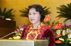 National Assembly leader leaves for Laos visit