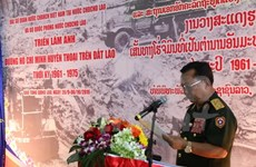 Exhibition on Ho Chi Minh Trail in Laos opens in Vientiane