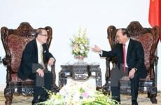 Prime Minister receives former Malaysian Senate President