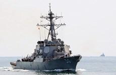 US naval ship visits Da Nang