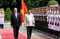 Presidents of Vietnam, Philippines vow to strengthen ties