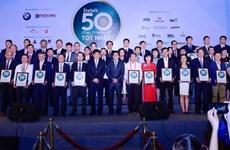 Best 50 listed companies in Vietnam honoured