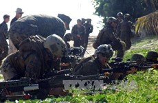 Philippines, US carry out military drill