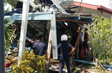 Malaysia: Military helicopter crashes into school