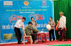 Thanh Hoa compiles list of poor, near-poor households