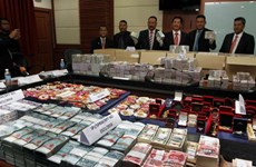 Malaysia seizes biggest-ever corruption cash