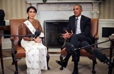 US lifts sanctions on Myanmar