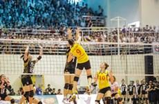 International Women's Volleyball Tourney begins
