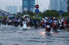 HCM City considers flood prevention top priority