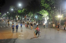 Hanoi's walking streets a playground for all