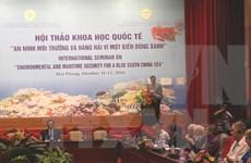 Seminar seeks measures to ensure environmental security in East Sea