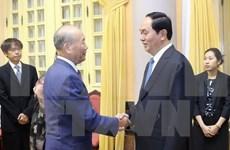 President welcomes Japanese friendship activist