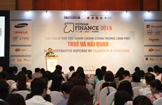 Vietnam finance conference, exposition opens