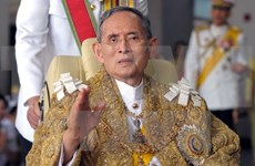 Leaders offer condolences on Thai King's death