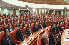 Party Central Committee wraps up 4th session