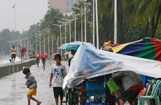 Typhoon Sarika hits Philippines