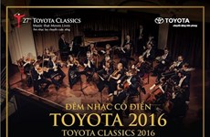 Toyota Classics 2016 to be held in HCM City