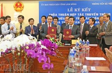 Vietnam News Agency, Lam Dong ink cooperation agreement