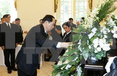 [Video] State President pays tribute to late Thai King
