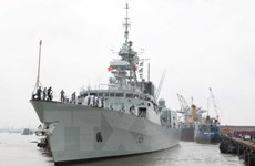 Canadian naval ship visits Ho Chi Minh City