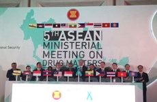 ASEAN adopts new mechanism against drugs