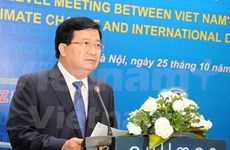 Vietnam holds climate change dialogue with development partners