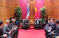 Gov't leader meets Thai Deputy PM