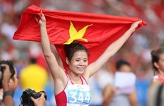 China's Li Ning sponsors Vietnamese athletics