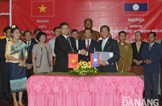 Da Nang, Lao localities boost cooperation