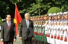Myanmar President pays state visit to Vietnam