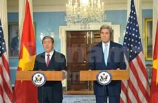 Top US diplomat emphasizes ties with Vietnam