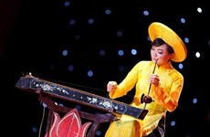 Classical concert with Vietnamese monochord