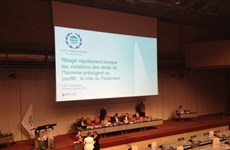 Vietnam highlights parliaments' role in ensuring human rights