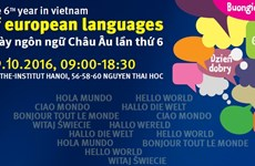 Hanoi language fest to link Europhiles