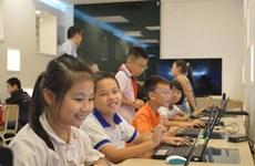 Hanoi: Fourth graders win WeCode contest