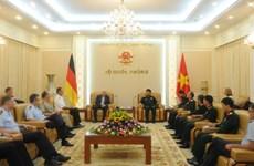 Germany backs Vietnam's stance in settling East Sea dispute
