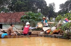 More support for flood victims in central region