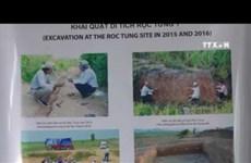 Symposium spotlights Vietnam's earlier stone age