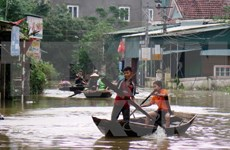 Floods kill four in central region, more torrential rains forecasted