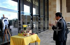 Vietnamese expats mourn Czech scholar