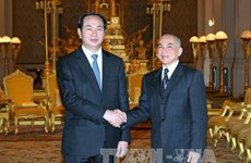 Leaders send greetings to Cambodia on National Day