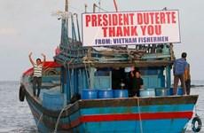 President thanks Philippine leader for releasing fishermen