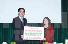 Chinese Red Cross donates 100,000 USD to flood victims