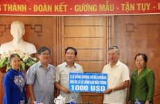 Vietnamese expats in Laos support flood victims in central region