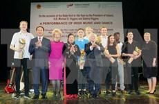 Art programme marks 20th VN-Ireland friendship