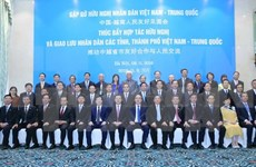 Vietnam-China friendship meeting promotes people-to-people exchange