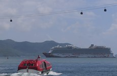 Luxury cruise ship brings visitors to Nha Trang city