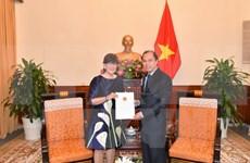 Vietnam recognises Belgian Consul General to Hanoi
