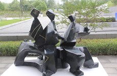 Exhibition honours icons of Vietnamese sculpture