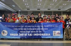 Vietnamese children win int'l maths and science competition